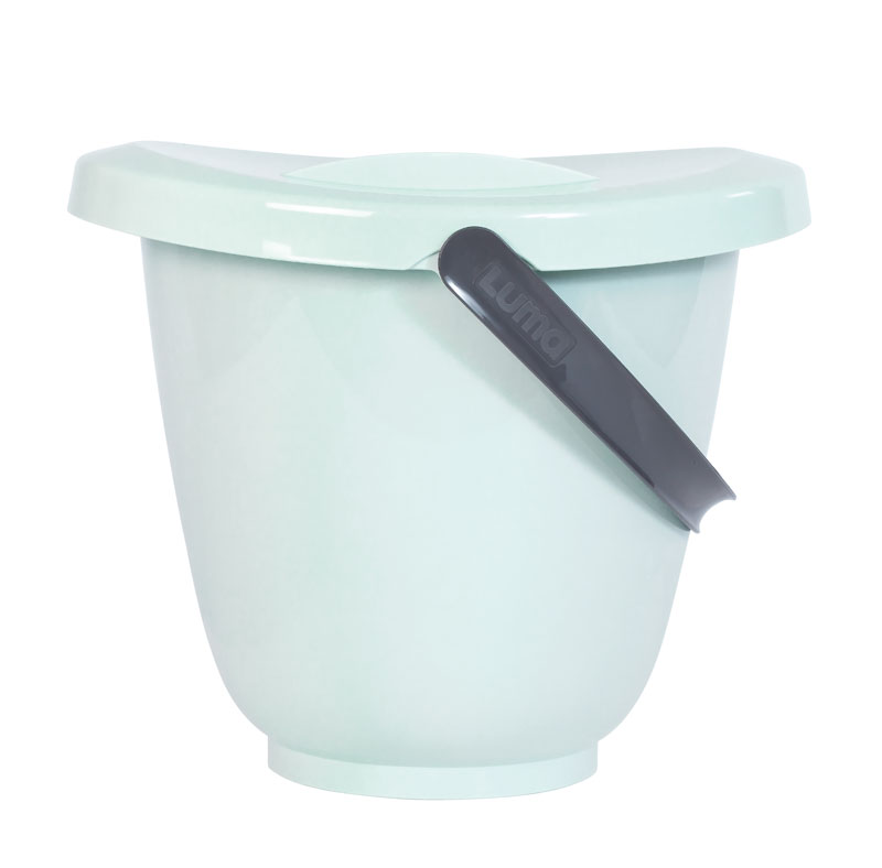 Kyblík na pleny s víkem LUMA - Misty Mint
