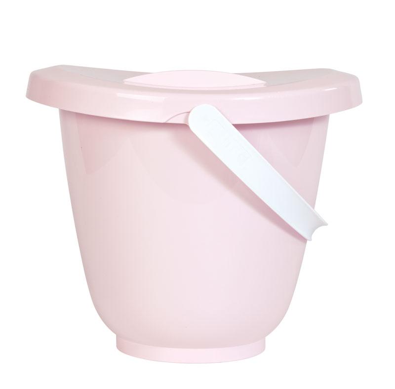 Kyblík na pleny s víkem LUMA - Pretty Pink
